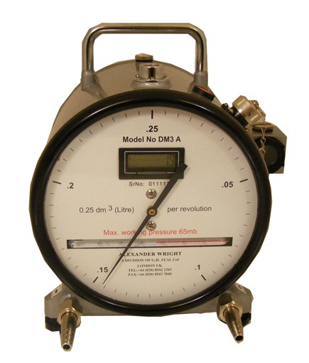 Dry Gas Meter : Wet test gas flowmeters