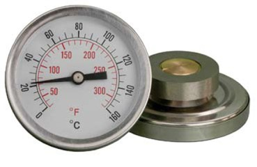Fridge temperature gauge