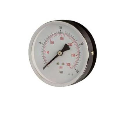 HVAC Pressure Gauge Back Connection
