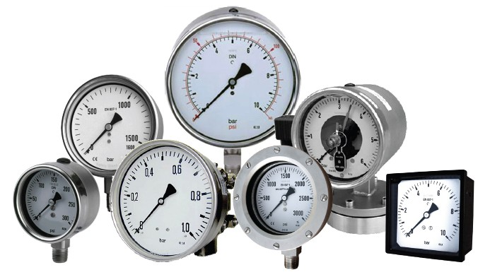 Fork Lift Gauge : Precision industrial dial pressure gauges