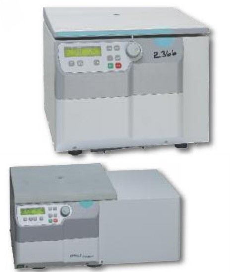 Hermle Z366 Unrefrigerated and Z366K Refrigerated Benchtop Centrifuges, 6 x 250ml
