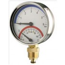 HVAC Combined Pressure and Temperature Gauge