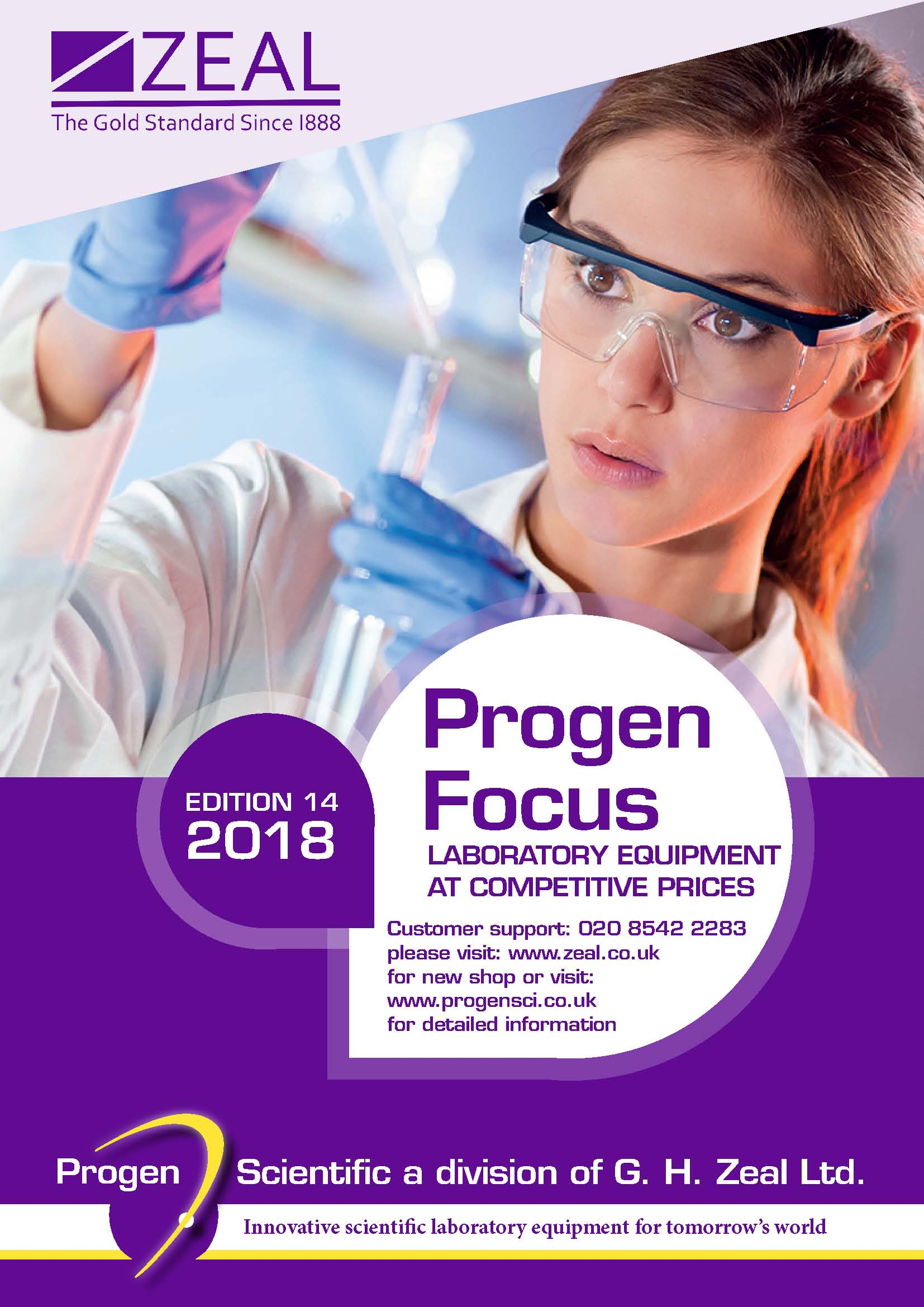 PROGEN FOCUS 2018 CATALOGUE